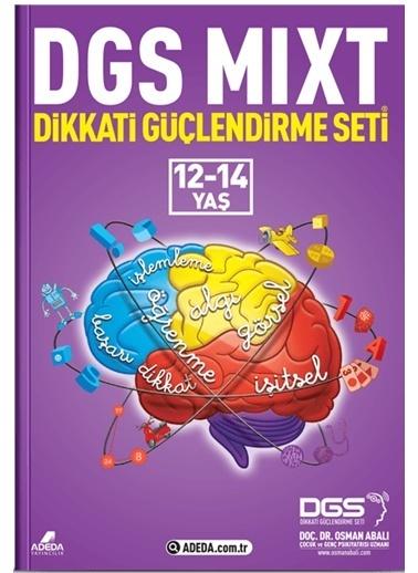 Morhipo kitap DGS MIXT Dikkati Güçlendirme Seti 12-14 Yaş Renkli